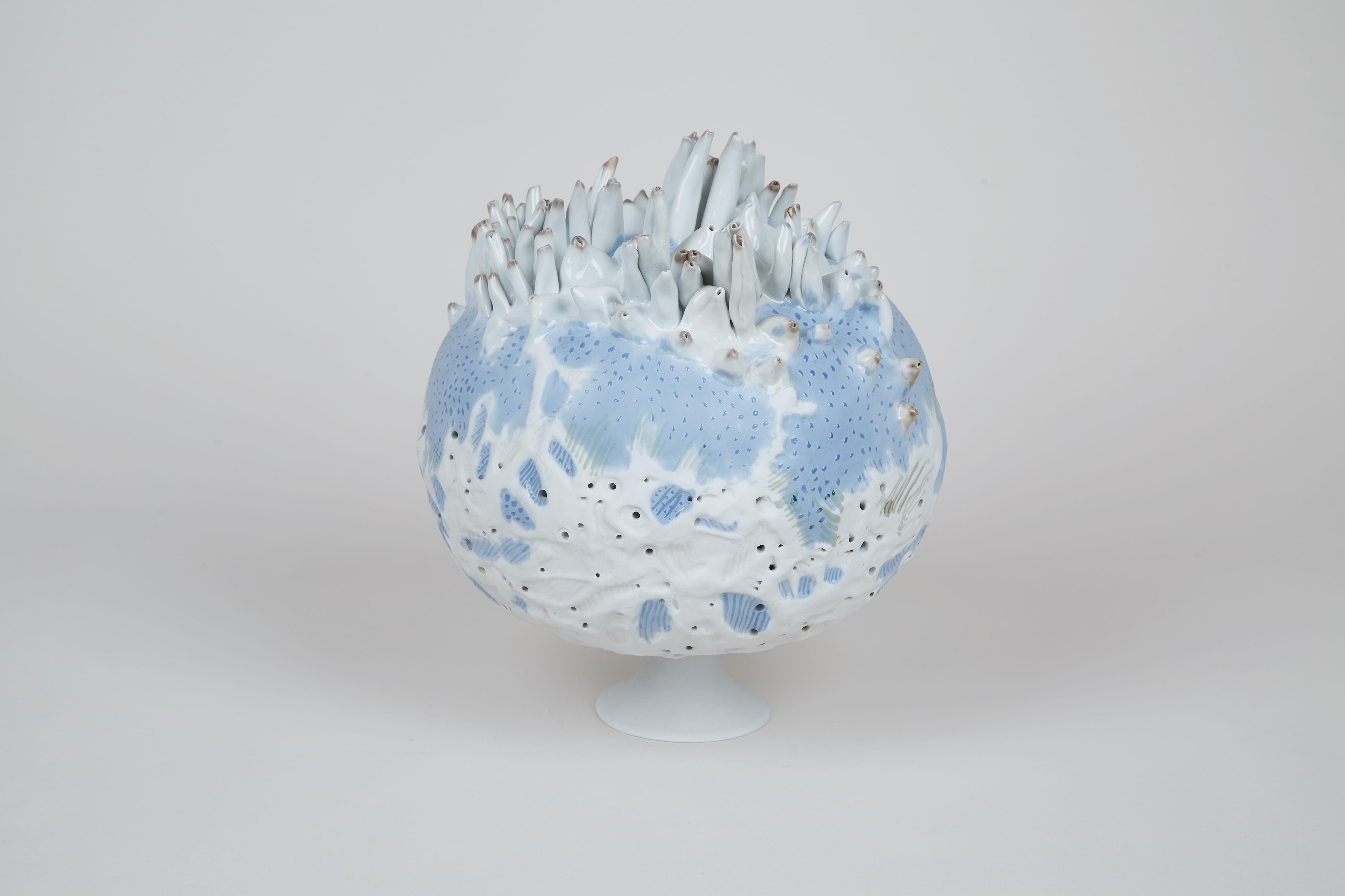 """""""Moje światy"""", porcelana, 1987, fot. J. Zych"""