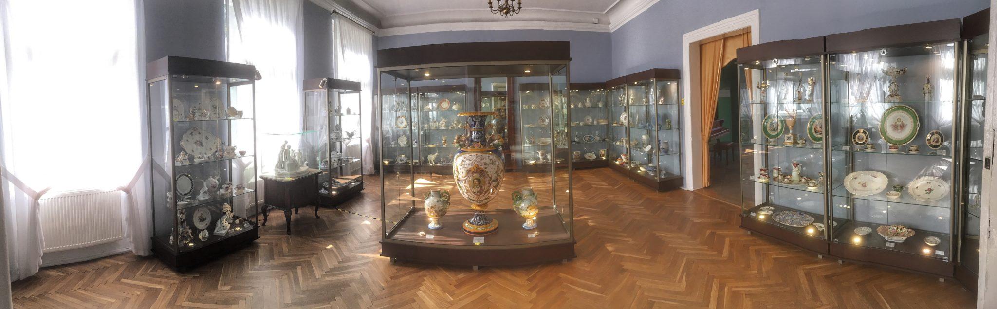 Kolekcja porcelany europejskiej